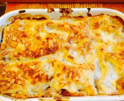 Lasagnes courgettes poivron aubergine