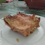 Lasagnes aux dés de poulet et chèvre
