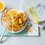Crêpes Suzette, orange