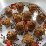 Mini-cakes lardons et chèvre