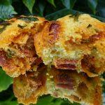 Muffins au cabillaud et chorizo