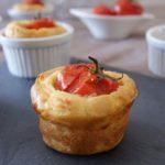 Cake à la tomate farcie