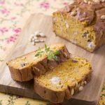 Cake aux sardines, tomates et thym