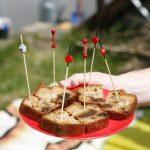 Cake aux lardons et aux pruneaux, d'après les cakes de Sophie
