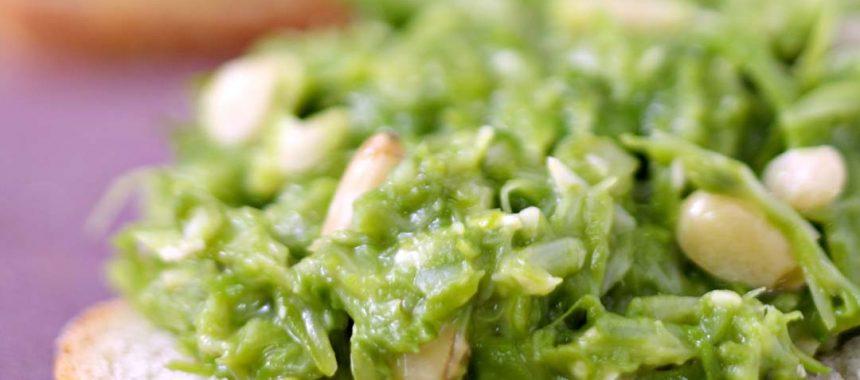 Pesto d'asperges vertes