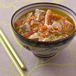 Soupe japonaise au tofu