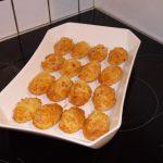 Madeleines salées jambon et roquefort