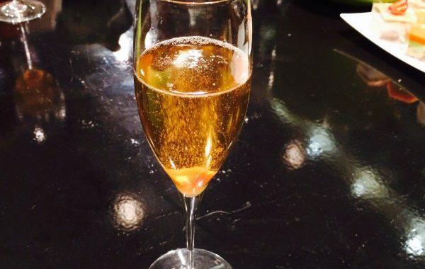 Champagne en cocktail