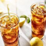 Thé glacé aromatisé