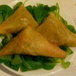 Samoussa au thon et aux légumes