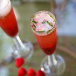 Cocktail rose sucré
