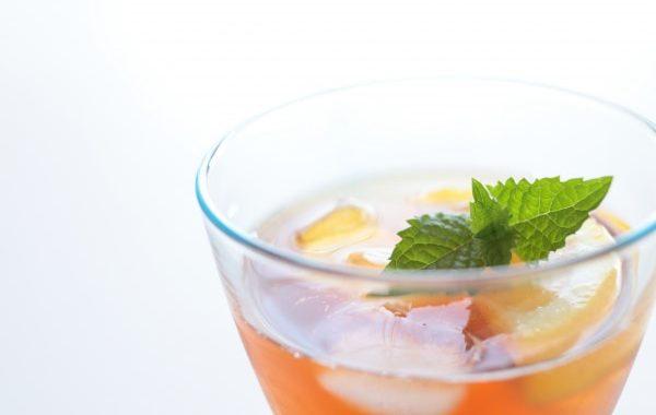 Thé glacé infusion à froid
