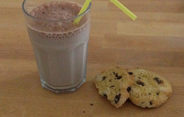 Milkshake choco-banane