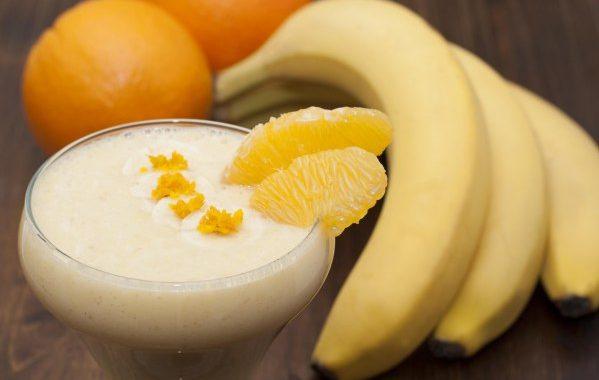 Milk-shake banane/oranges (sans produits laitiers)
