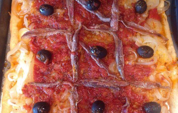 Pissaladière à la tomate (pichade Mentonnaise)