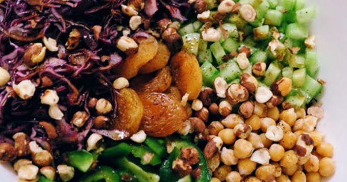 Buddah Bowl : une salade complète sans œufs, sans lait, sans gluten