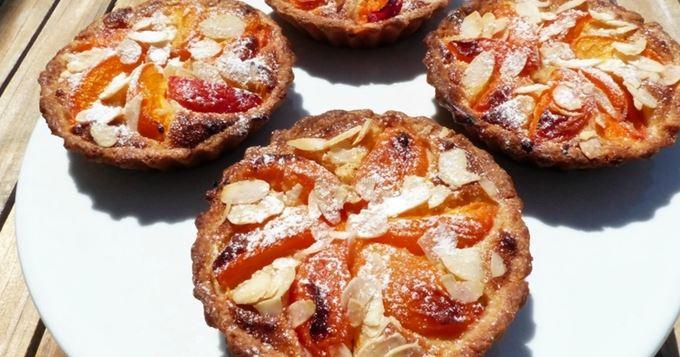 Tartelettes amandines aux abricots