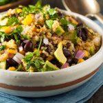 Quinoa salad à la mexicaine