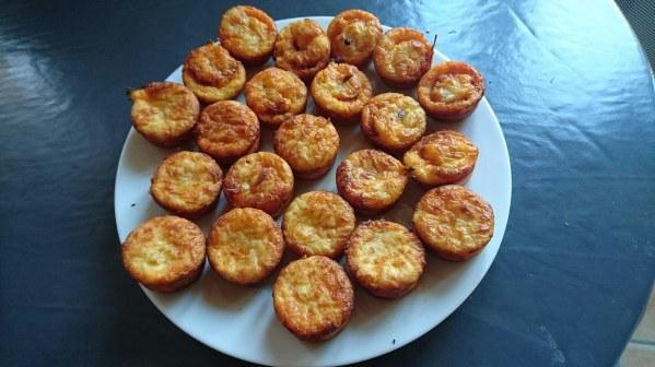 Muffins chorizo et chèvre