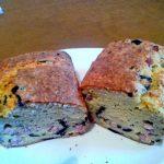 Cake au jambon cru et aux olives noires