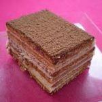 Gâteau aux petits beurres ('petits bruns')