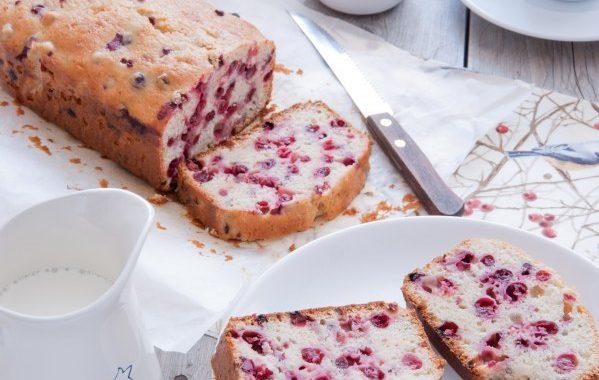 Gâteau moelleux aux groseilles (bublanina)