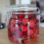 Fruits à l'eau de vie