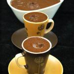 Mousse au chocolat allégée