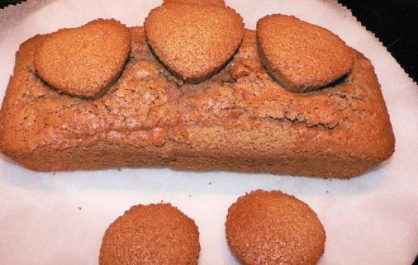 Gâteau moelleux à la farine de châtaigne