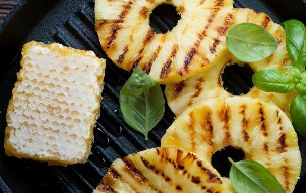 Poêlée d'ananas au beurre de miel