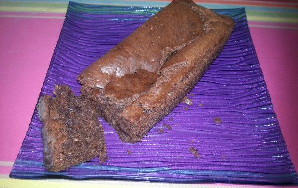 Gâteau fondant au chocolat sans oeufs