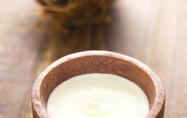 Crème anglaise au lait de coco