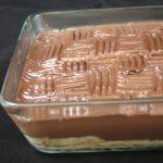 Gâteau aux 'petits bruns' (petits beurres)