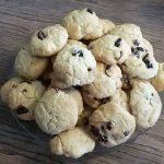 Cookies aux cranberries et au chocolat au lait