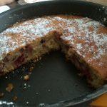 Gâteau au yaourt et aux framboises