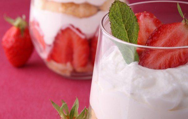 Tiramisu fraises, framboises