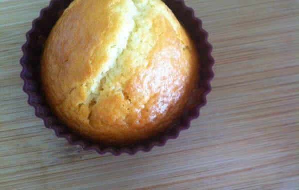 Muffins noix de coco coeur coulant au nutella