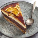 Cheese cake orange et chocolat