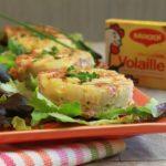 Mini Tortilla au saumon fumé