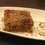 Gâteau courant d'air tunisien