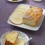 Cake frais aux pommes et au citron