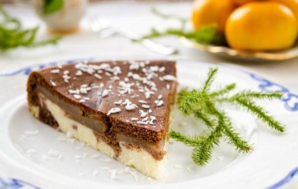 Tarte chocolat coco