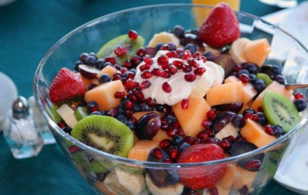 Salade de fruit d'hiver