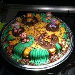 Gâteau d'anniversaire jungle