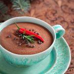 Mousse au chocolat au piment d'Espelette et au beurre salé