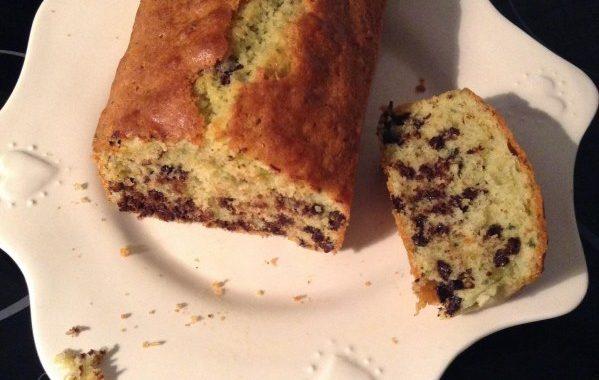 Cake menthe chocolat