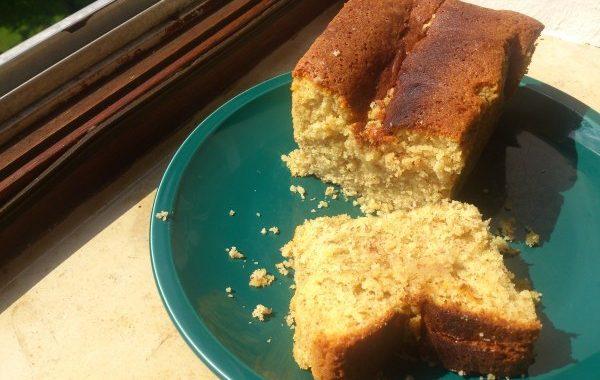 Cake citron-amandes sans gluten