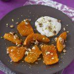 Dessert de potiron (kabak tatlisi : recette turque)