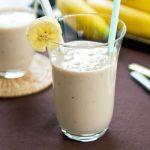Smoothie yaourt banane
