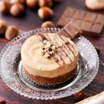 Cheesecake sans cuisson caramel noisettes et chocolat individuel